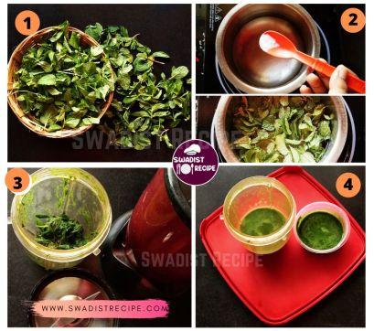 Pudina Paratha Recipe Step 1