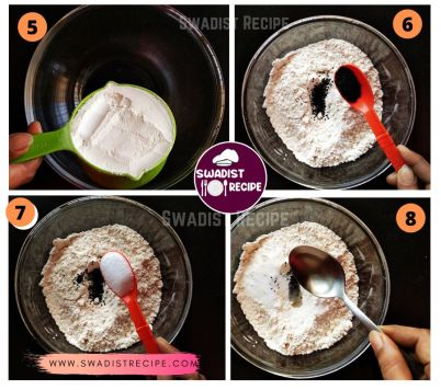 Pudina Paratha Recipe Step 2