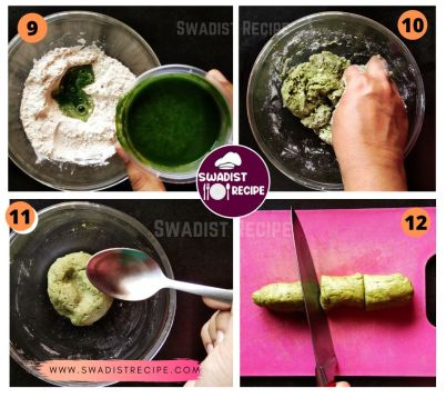 Pudina Paratha Recipe Step 3