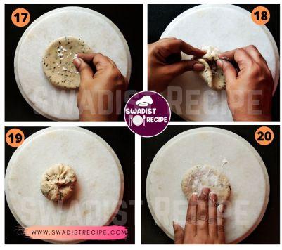 Pudina Paratha Recipe Step 5