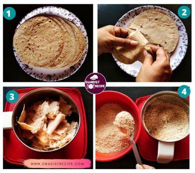 Roti Ke Laddu Recipe Step 1