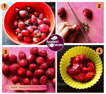 Strawberry Chutney Recipe Step 1