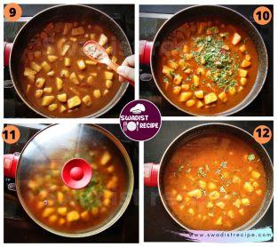 Alu Sabzi bedmi poori Recipe Step 3
