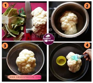 Fulgobhi keema Recipe Step 1