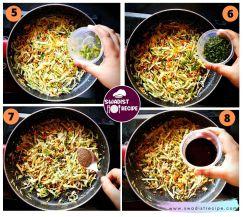 Hot n sour soup Step 2