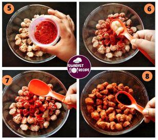 Soyabean Chilli Recipe Step 2