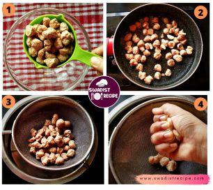 Soyabean Chilli Recipe Step 1