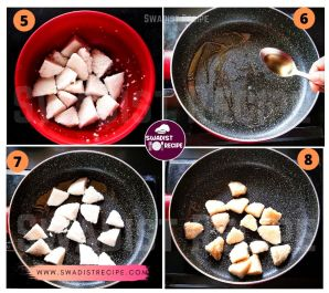 Idli chilli Recipe Step 2