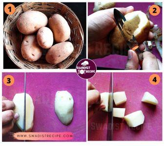 Jeera Alu Recipe Step 1