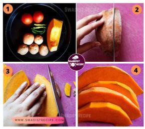 satvik Kumhra alu ki sabzi Recipe Step 1