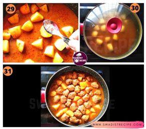 satvik Suran kofta Recipe Step 8