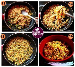 Veg MasalaMaggi Noodle Recipe Step 4