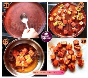 Paneer Tikka Masala Recipe Step 7
