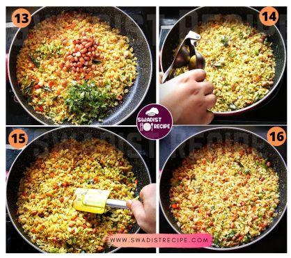 Poha Recipe step 4