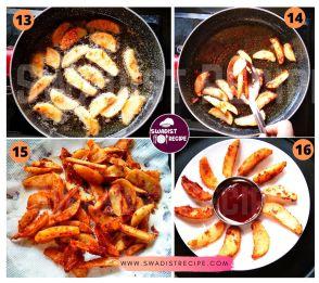 Potato Wedges Recipe Step 4