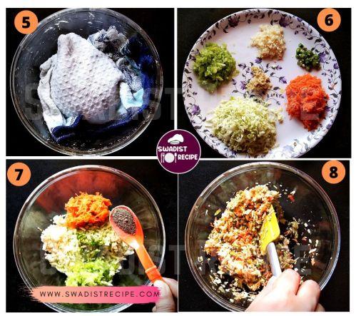 Veg Momo Recipe Step 2