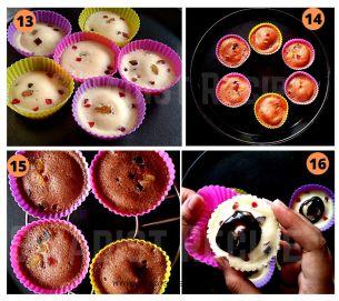 Eggless Muffins Recipe Step 4