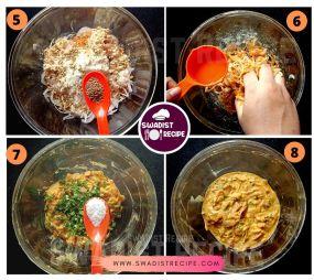 Kanda Bhaji Pav Recipe Step 2