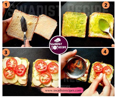 Bombay Sandwich Recipe Step 1