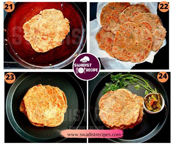 Sindhi Koki Recipe Step 6