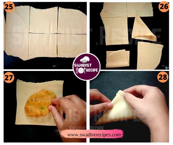 Veg Puff Recipe Step 7