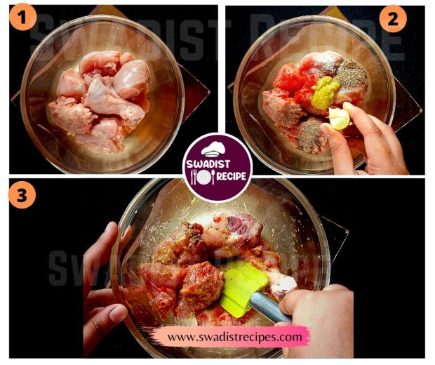 Crisp fried chicken Recipe Step 1