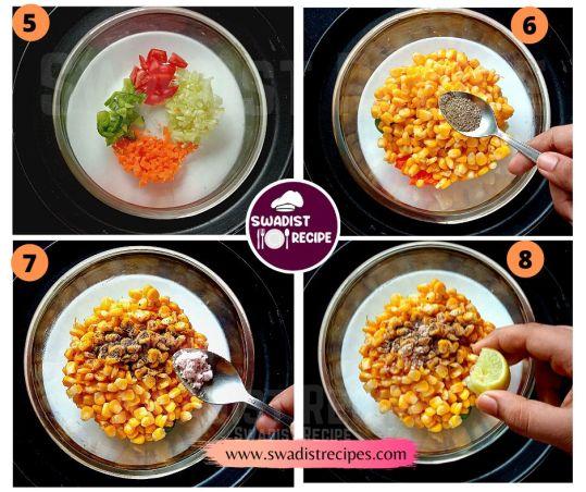 Desi makai salad Recipe Step 2