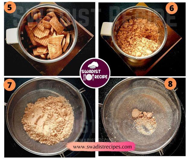 Parle G biscuit cake Recipe Step 2