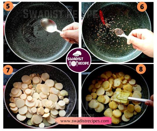 Sweet potato Recipe Step 2
