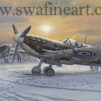 Spitfire The Pride of Britain xmas card
