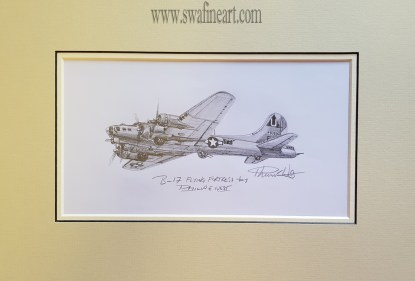 B-17 Flying Fortress By Philip West