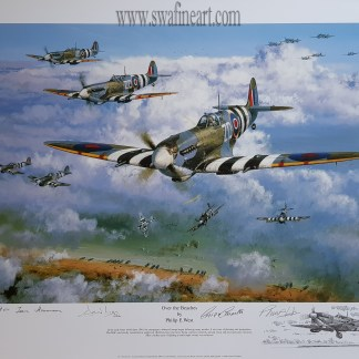 Over The Beaches Spitfire Philip West