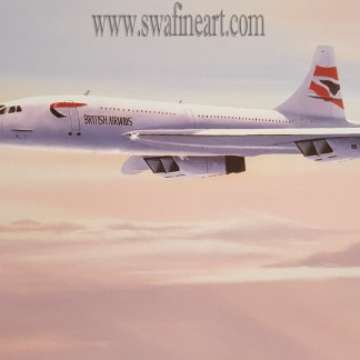 Atlantic Flyer Concorde by stephen brown