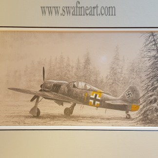 FW 190A-7 of Otto Kittel original by Stephen Brown