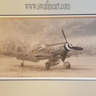 Me 109 G-10 of Horst Petzschler Original by Stephen Brown