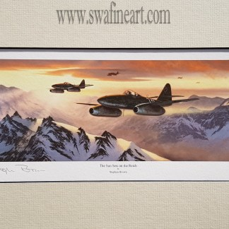 The Sunsets On The Reich Mounted