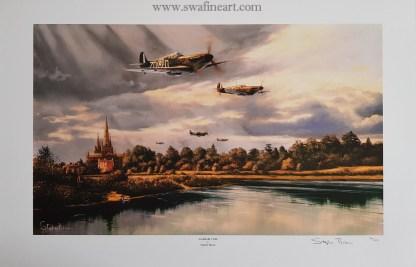 Litchfield 1940 (Stephen Brown Avition Artist)