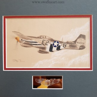 P-51D Mustang Geraldine Original Stephen Brown