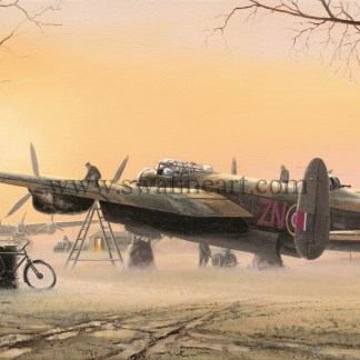 Lancasters at the Ready Christmas card