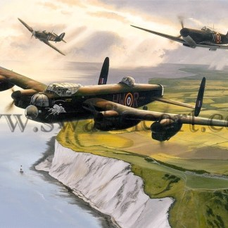 Avro Lancaster Lest We Forget Birthday card