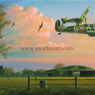 Spitfire Return of the Few Birthday card