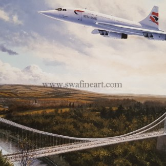 Concorde The Homecoming Birthday card