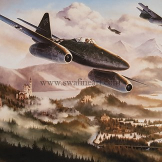 Me 262 The Hunting Party Aviation card