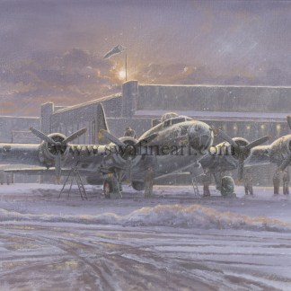 B-17 The Memphis Belle Christmas Card