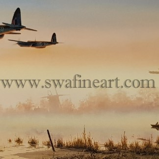 de Havilland Mosquito Quiet Moments Fathers Day Card