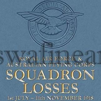 RAF AFC Losses 1918 Vol 2 book
