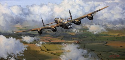 Avro Lancaster Long Mission Ahead Aviation cards