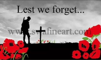 Lest we Forget Army
