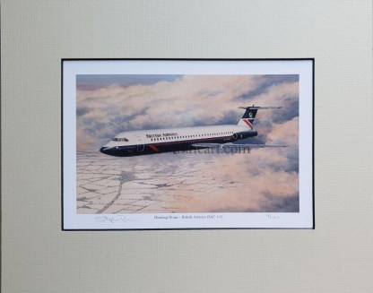Heading Home - British Airways BAC 1-11