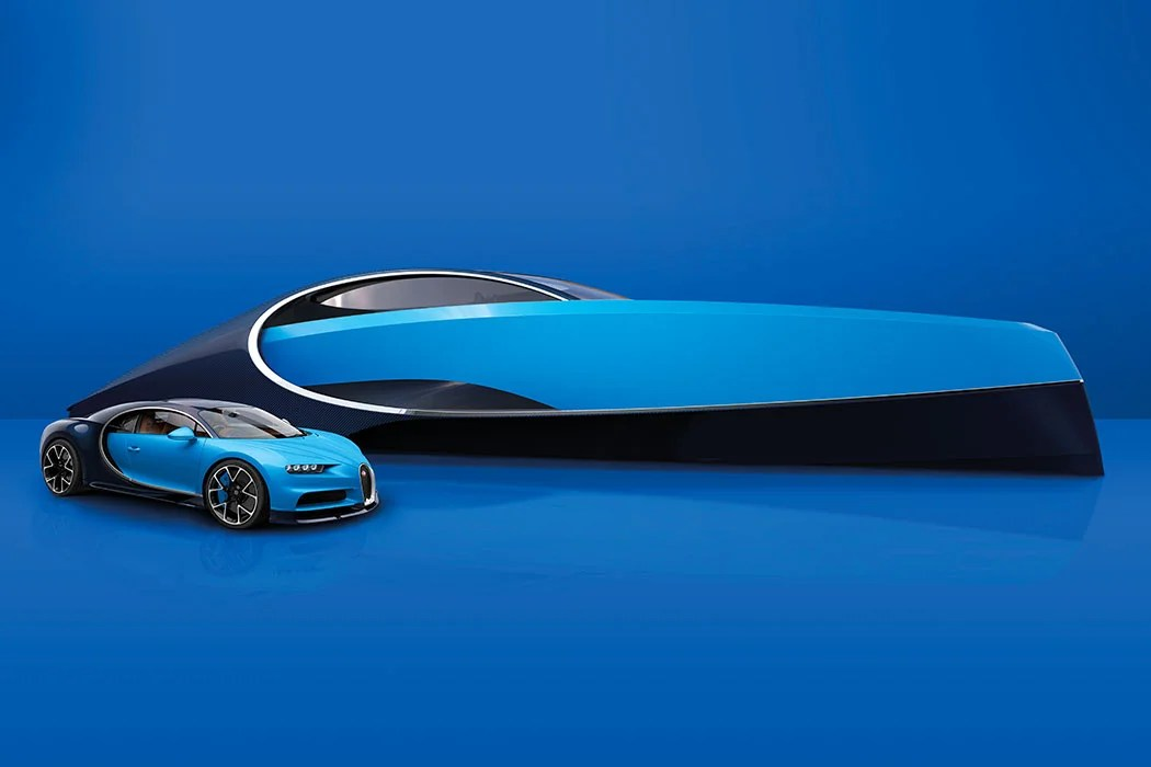 Bugatti Takes The PLUNGE   Luxury Car Brand Takes To The WATER With  Futuristic YACHT